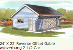 garage-2-and-half-car-offset-gable