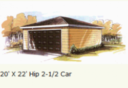 garage-hip-roof-two-and-half-car-garage