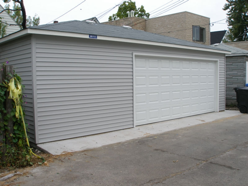 New garage in Chicago