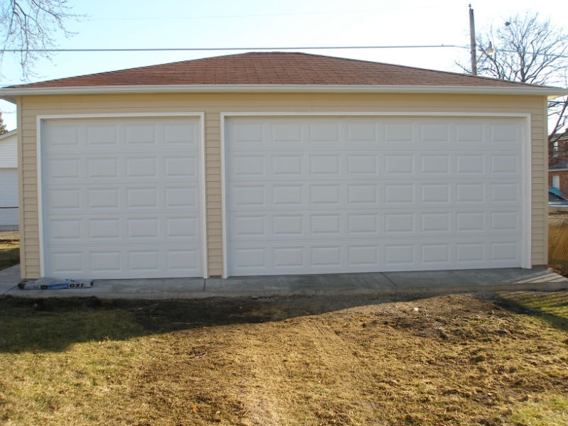 Garage styles in Park Ridge