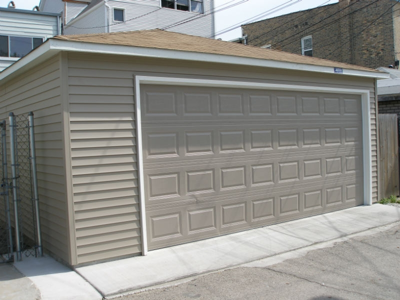 Garage sizes in Park Ridge