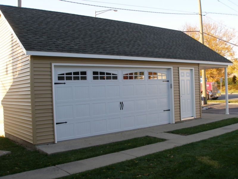 Garage construction in Park Ridge