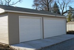 Garage design in Park Ridge