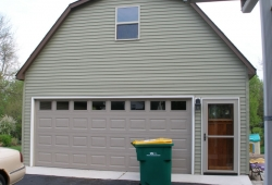 Custom garage in Oaklawn
