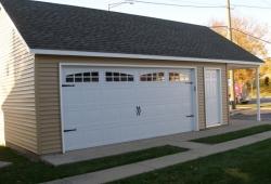 Garage construction in Park Ridge
