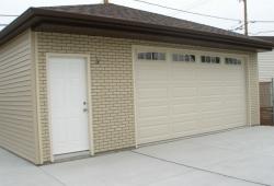 Garage construction in Oaklawn