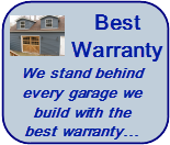 Chicago Illinois and Cook County Best Garage Builder Warranty
