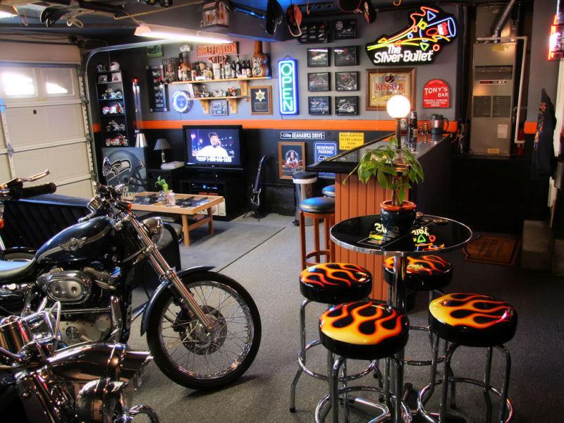 Man Cave Garage Company : Gun room reloading man cave